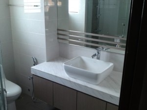 for damp places like bathroom and kitchen it is important to make sure