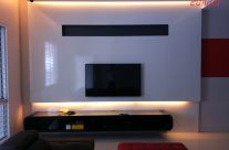 Built-in TV Cabinet with Lighting