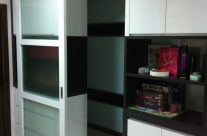 Walk-in Closet with Sliding Door