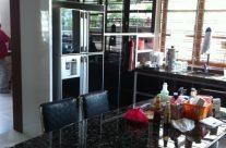 Black P.U. Paint Kitchen Cabinets
