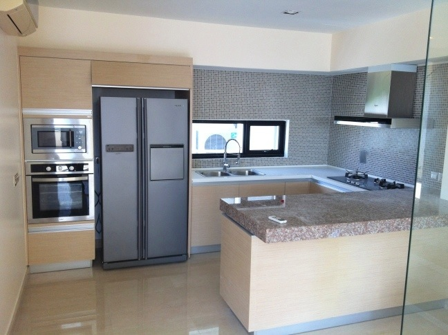 Modern built in kitchen cabinets for Built in kitchen cabinets