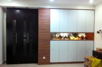 Built-in Cabinet with Display