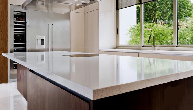 Ice Snow Quartz Countertop