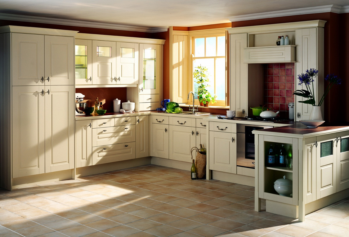 New kitchen layouts best layout room - Kitchen design ideas white cabinets ...