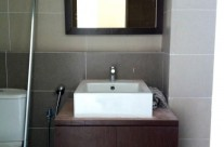 Veneered Plywood Bathroom Cabinet